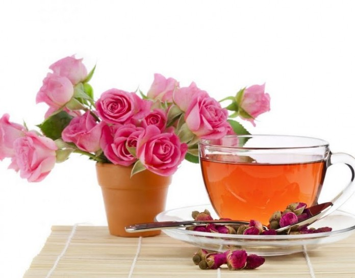 Rose teapic